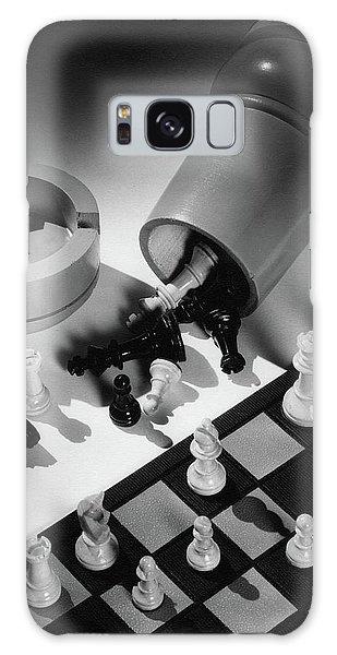 A Chess Set Galaxy Case