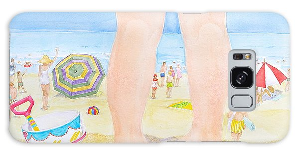 A Child Remembers The Beach Galaxy Case