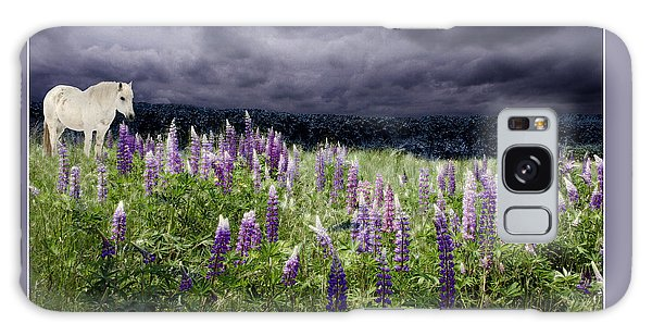 A Childs Dream Among Lupine Galaxy Case