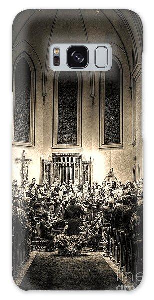 A Christmas Choir Galaxy Case