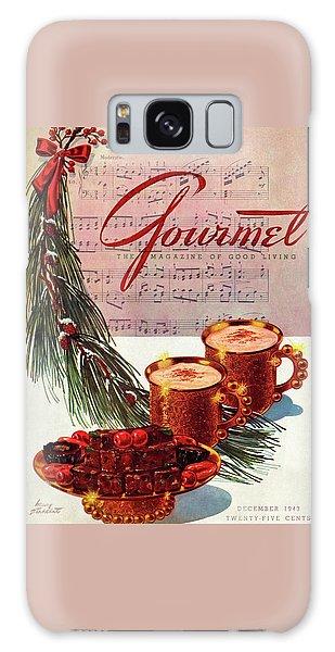 A Christmas Gourmet Cover Galaxy Case