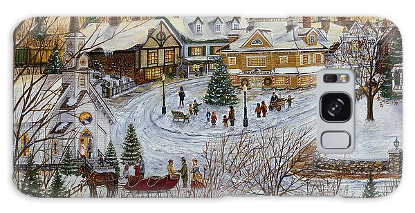 A Christmas Village Galaxy Case by Doug Kreuger
