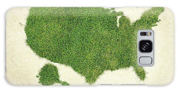 Usa Map Galaxy Case - United State Grass Map by Aged Pixel