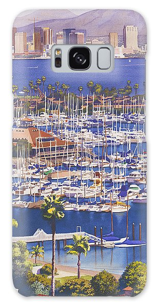 City Scenes Galaxy S8 Case - A Clear Day In San Diego by Mary Helmreich