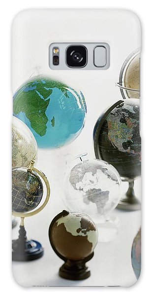 A Collection Of Globes Galaxy Case