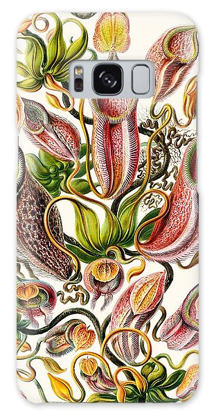 Colours Galaxy Case - A Collection Of Nepenthaceae by Ernst Haeckel