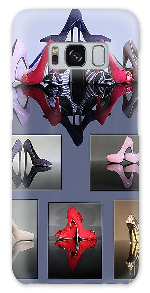 A Collection Of Stiletto Shoes Galaxy Case