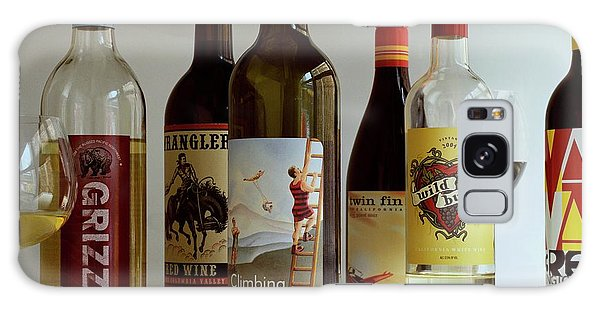 A Collection Of Wine Bottles Galaxy Case