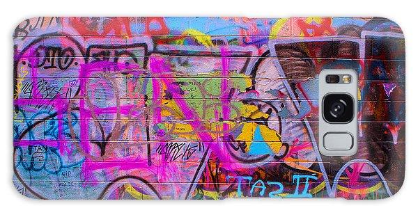 A Colourful Wall. Galaxy Case