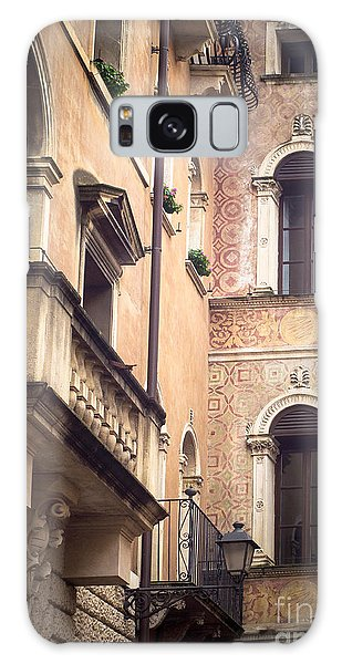 A Corner Of Vicenza Italy Galaxy Case