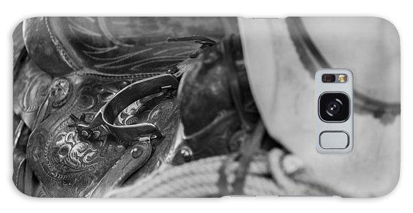 A Cowboy's Gear Galaxy Case by Amber Kresge