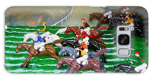 A Day At The Races Galaxy Case by Richard Reeve