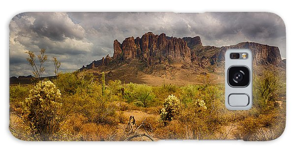 A Day At The Superstitions  Galaxy Case