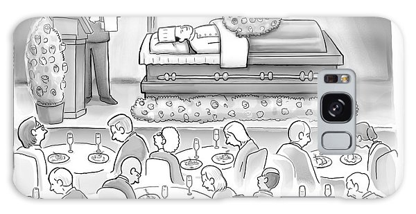 A Dead Chef Is In A Casket And A Bunch Of People Galaxy Case