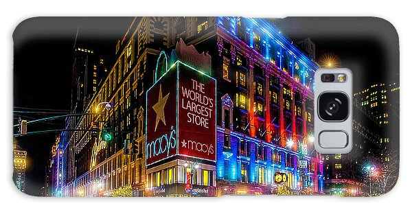A December Evening At Macy's  Galaxy Case