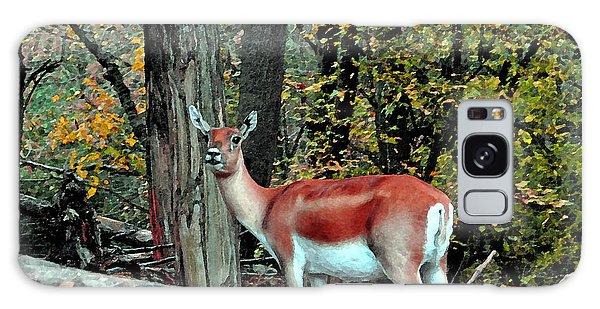 A Deer Look Galaxy Case