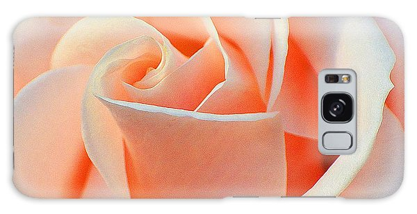 A Delicate Rose Galaxy Case by Cindy Manero