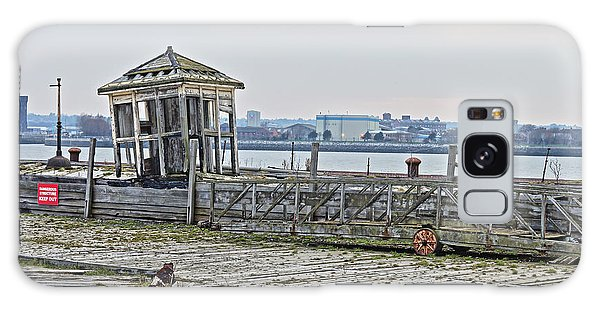 A Derelict Kiosk On A Disused Quay In Liverpool Galaxy Case