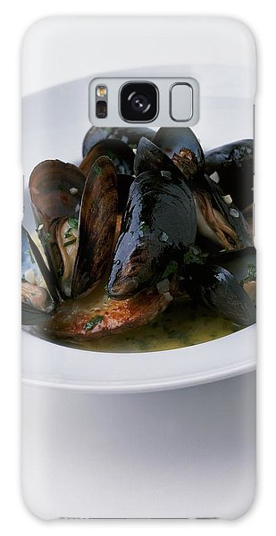 A Dish Of Mussels Galaxy Case