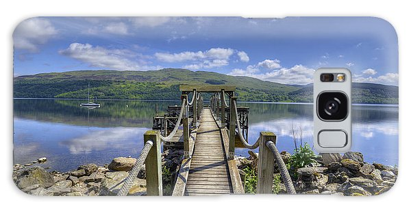 A Dock Out To Loch Tay Galaxy Case