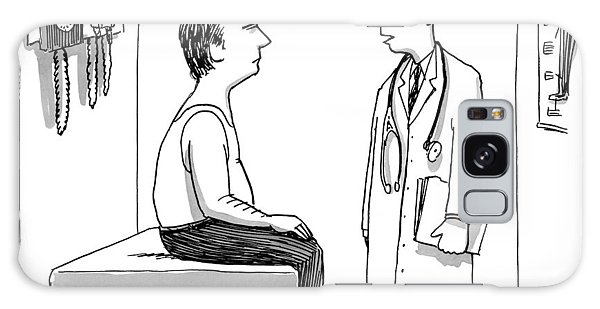 A Doctor Explains To His Male Patient Galaxy Case