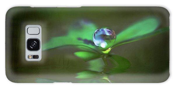 A Dream Of Green Galaxy Case