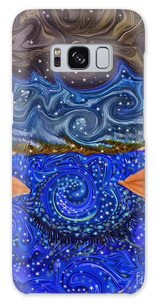 Scarf Galaxy Case - A Dream Within A Dream by Sara Gravely- Comstock