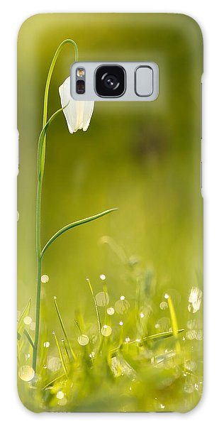 Grass Snake Galaxy Case - A Fairies' Place IIi _snake's Head Fritillary by Roeselien Raimond