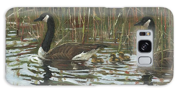 Gosling Galaxy Case - A Family Outing by Grant Lounsbury