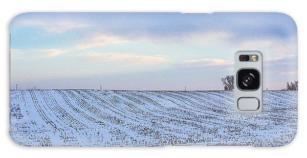 A Field In Iowa At Sunset Galaxy Case