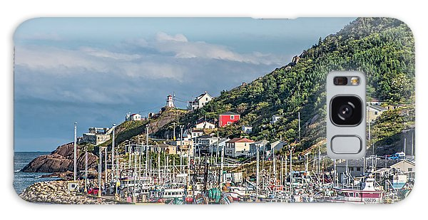 A Fishing Harbour In Newfoundland Canada Galaxy Case by Gerda Grice