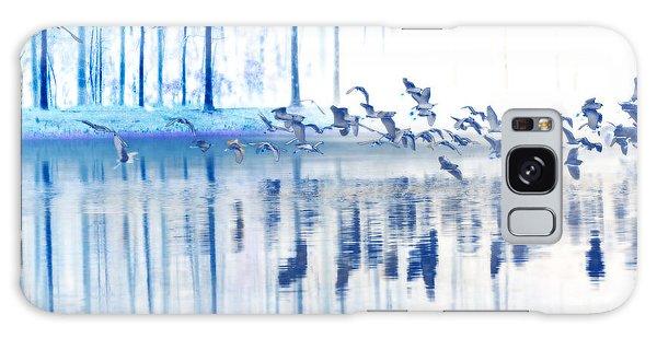 A Flock Of Egrets Galaxy Case