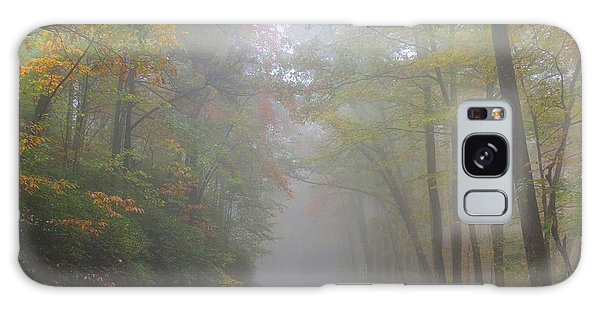 A Foggy Drive Galaxy Case