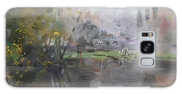 Georgetown Galaxy S8 Case - A Foggy Fall Day By The Pond  by Ylli Haruni