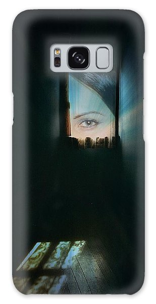 A Glimpse Galaxy Case by Shirley Sirois