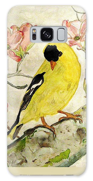 A Goldfinch Spring Galaxy Case