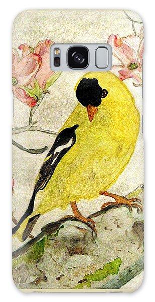 A Goldfinch Spring Galaxy Case