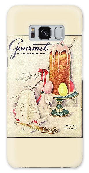 A Gourmet Cover Of A Cake Galaxy Case