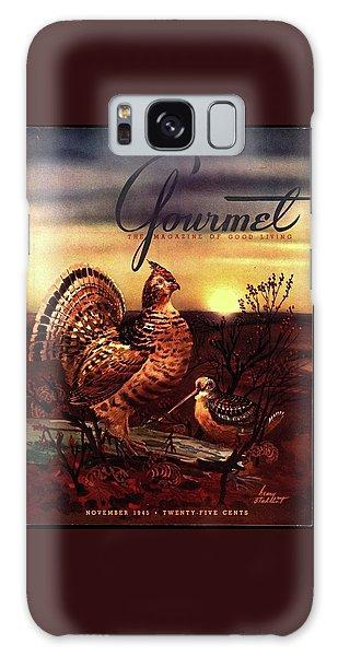 A Gourmet Cover Of A Turkey Galaxy Case