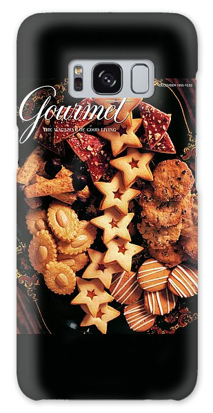 A Gourmet Cover Of Butter Cookies Galaxy Case