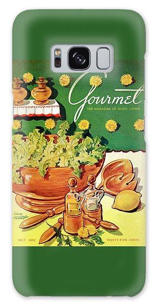 A Gourmet Cover Of Dandelion Salad Galaxy Case