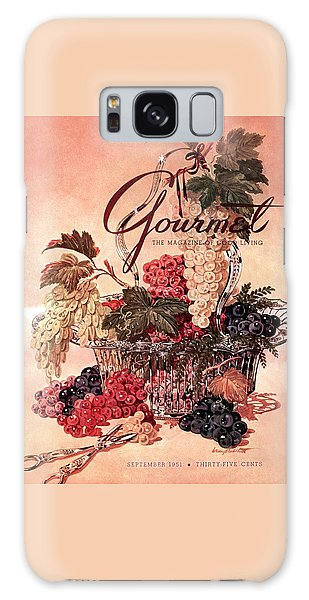 A Gourmet Cover Of Grapes Galaxy S8 Case