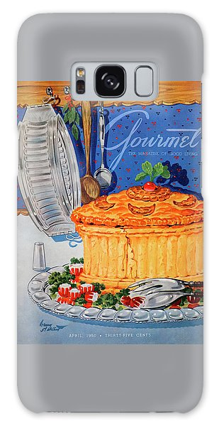A Gourmet Cover Of Pate En Croute Galaxy Case