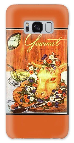 A Gourmet Cover Of Tete De Veau Galaxy Case