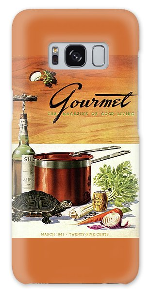 A Gourmet Cover Of Turtle Soup Ingredients Galaxy Case