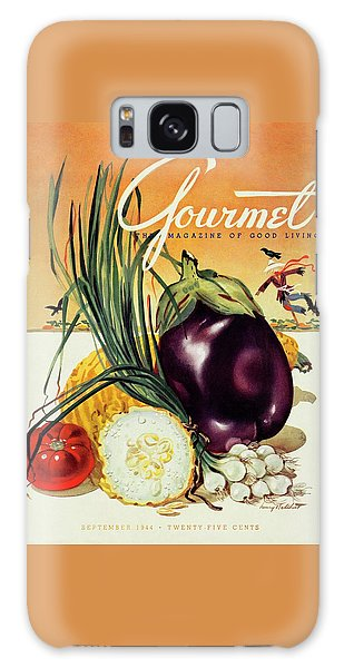 A Gourmet Cover Of Vegetables Galaxy Case