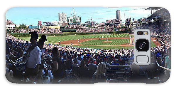A Great Day At Wrigley Field Galaxy Case by Rod Seel