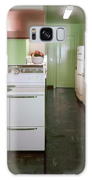 A Green Kitchen Galaxy Case