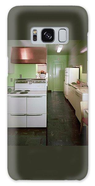 A Green Kitchen Galaxy Case