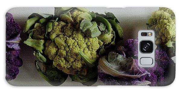 A Group Of Cauliflower Heads Galaxy Case